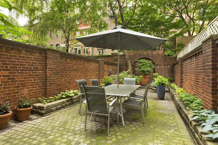 Perfect small garden/patio space for townhouse