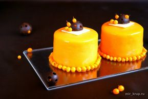 Облепиховые пирожные   Вкусный и простой рецепт