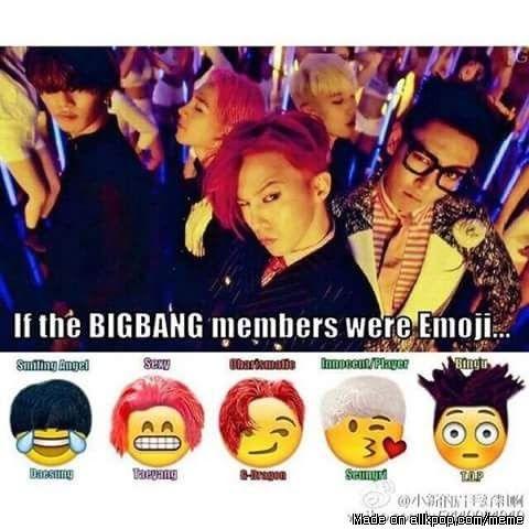 They should really make emojis like this! - Big Bang