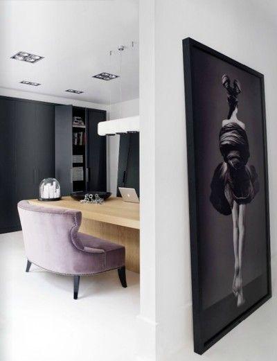 Meer dan 1000 idee n over roze kantoor op pinterest werkruimtes home deco en appartement - Kantoor deco ...