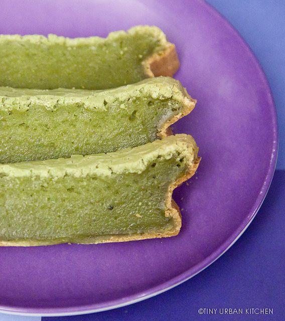 Delightful & spongi Matcha mochi Cake #japaneasy #matcha #mochi
