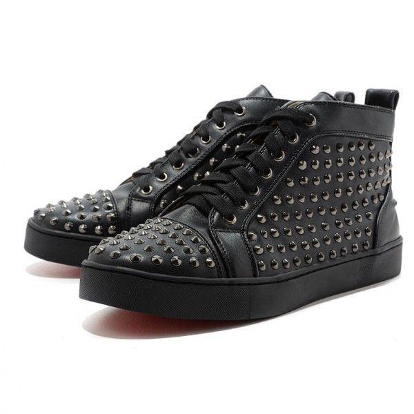 Mans flache Leder Sneakers Dark Black Online-Verkauf sparen Sie bis zu 70% Rabatt, einfach einkaufen darüber hinaus versandkostenfrei.#shoes #womenstyle #heels #womenheels #womenshoes  #fashionheels #redheels #louboutin #louboutinheels #christanlouboutinshoes #louboutinworld