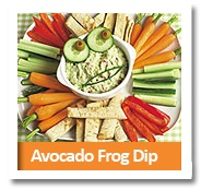 Avocado Frog DipFrogs Dips, Avocado Frogs, Tailgating Recipes, Funny Face, Healthy Snacks, Healthy Eating, Avocado Dip, Healthy Treats, Kids Food
