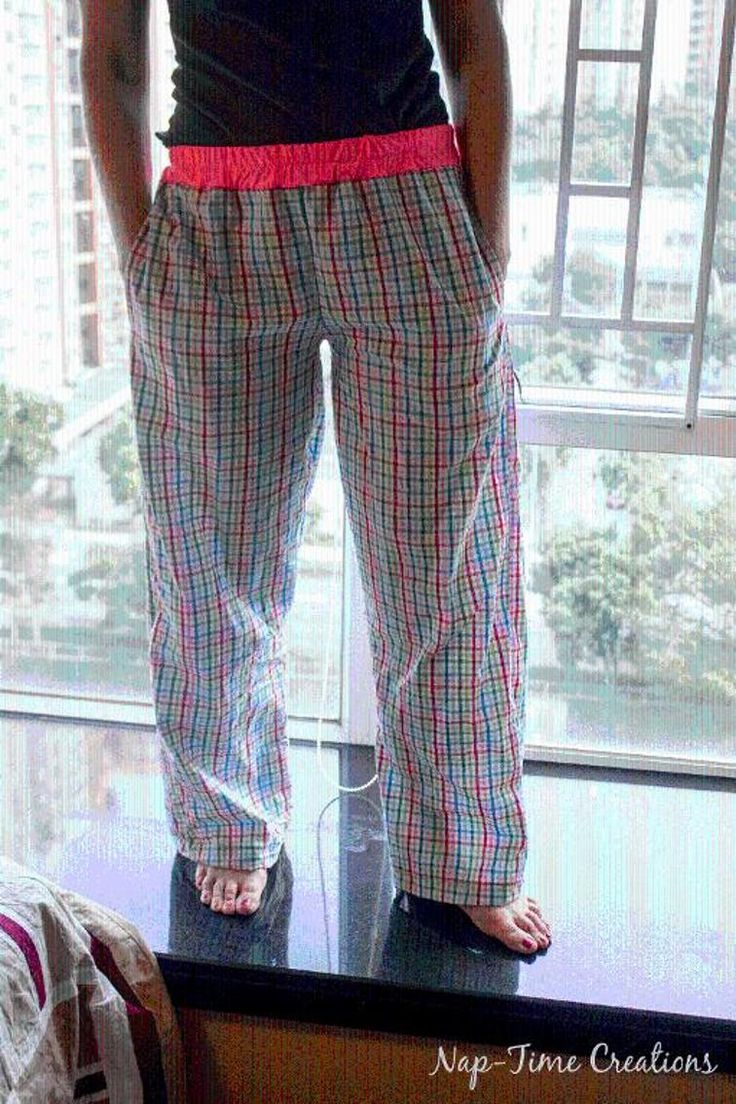 Free Sewing Pattern: Women's Free Pj/Lounge Pants Pattern