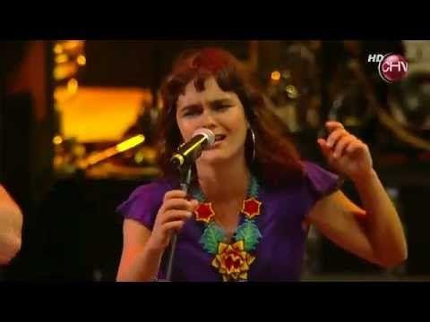 Latinoamérica - Calle 13 + Inti Illimani + Camila Moreno en Viña del Mar, 2011, Chile. Amazing