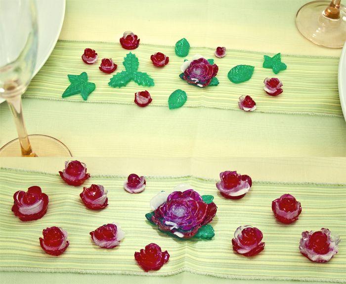 Besteckablage, Tischdeko, Kunstharz, Blickfang Exclusive Tischdeko