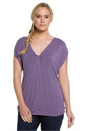 Plus Size Twist Front Knit Top