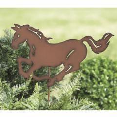Bucking Horse Garden Stake   Bizrate
