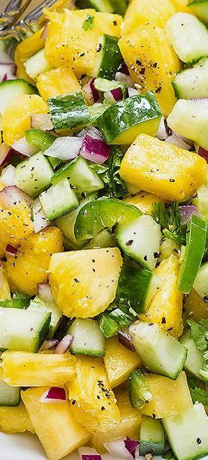 Best summer salad recipe. Eatwell101.com
