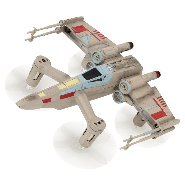 Star Wars T-65 Xwing Star Fighter<br>Bring the magic of flight to a whole new dimension with the Star Wars T-65 Xwing Star Fighter Battle Drone from Propel. Pilot the drone to speeds up to 35 MPH and engage family and friends in exciting multiplayer battles. Download the Star Wars Battle Drone app for IOS or Android devices to learn how to fly your Xwing Fighter on Planet Hoth with a ground breaking flight simulator. Enter the battle mode in the app to compete against other Star Wars Dr...