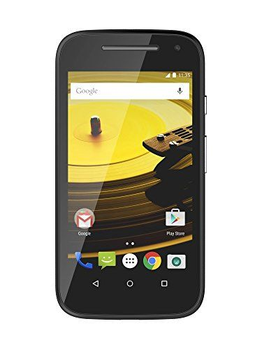 Motorola Moto E (2nd Generation) – Unlocked – US (Black)   Motorola Moto E (2nd Generation) - Unlocked - US (Black)  Start getting more without spending more. Like a big, brilliant display that's the sharpest in its class. Built-in protection from scrapes, spills, and smudges. A fast quad-core processor, plus the latest version of Android OS, Lollipop. Not to mention battery life that lasts a full day, so you can get on with yours. Choose to start your adventure with the new Moto E. ..