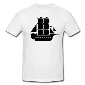 t-shirt illustation pirate