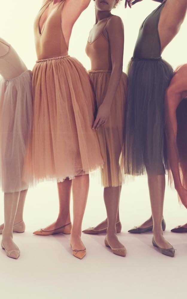 Christian Louboutin launched their extended Nude Collection this week, which now includes dainty flats.