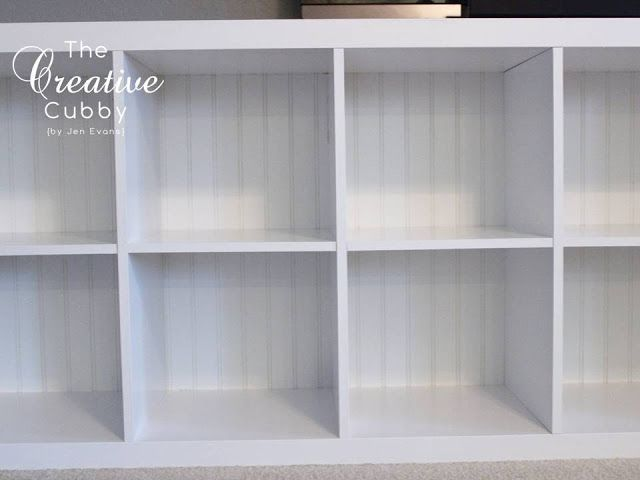 The Creative Cubby: IKEA Expedit Makeover