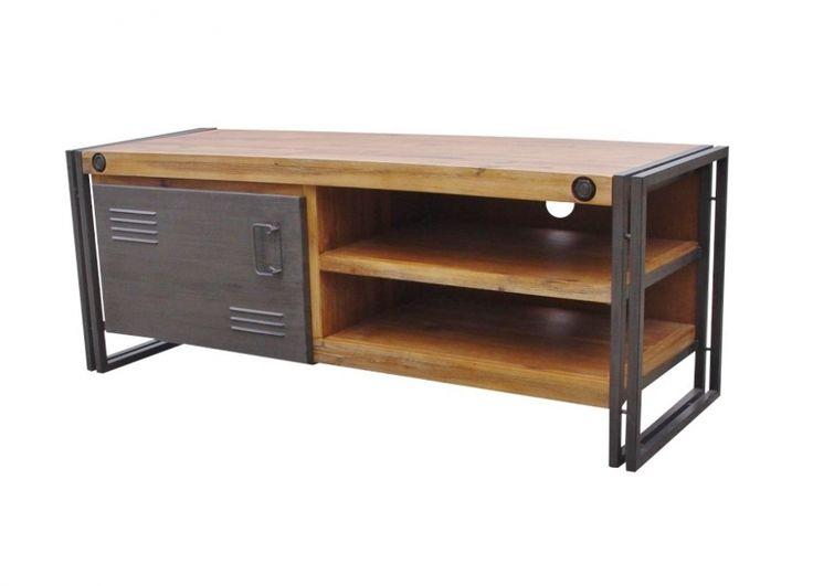 Industrial tv dressoir
