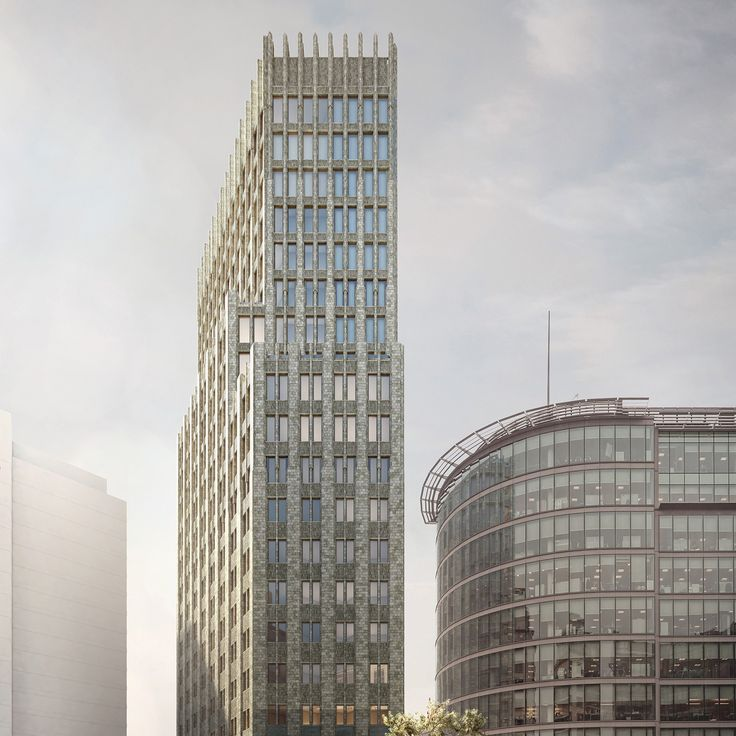 Carmody Groarkehas received planning permission for a 20-storey hotel tower in London's Paddington, as the area readies itself for the opening Crossrail.