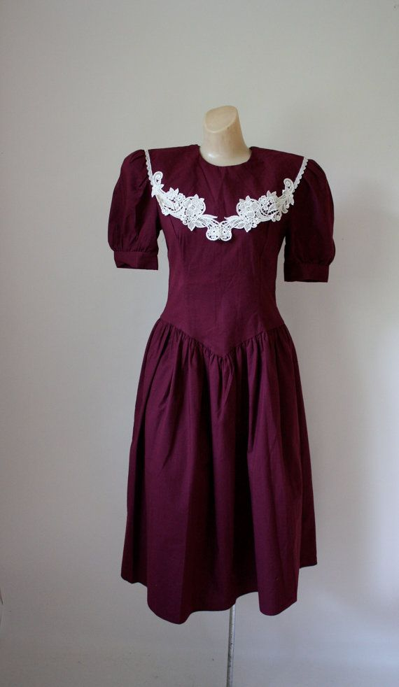 Gunne Sax Dress-Vintage Gunne by WindingRoadVintage on Etsy