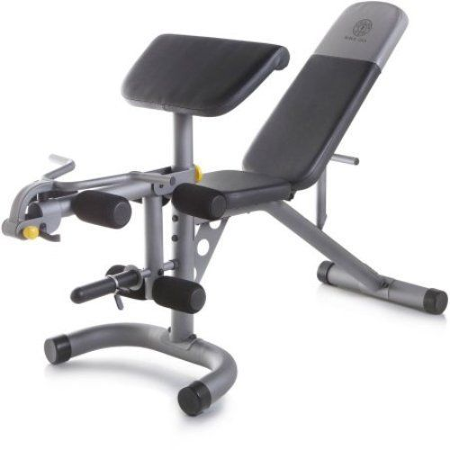 Golds Gym XRS 20 Weight Workout Bench Exercise Fitness Lifting Home Gym Training #GoldsGym