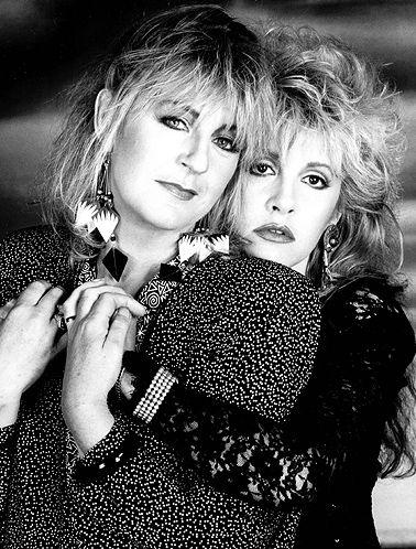 Christine McVie and Stevie Nicks