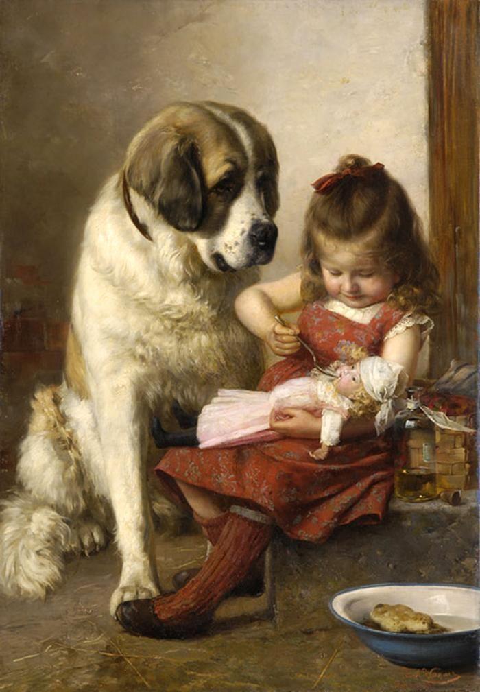 Paul Wagner (1852 – 1937) – Pintor Alemão_3