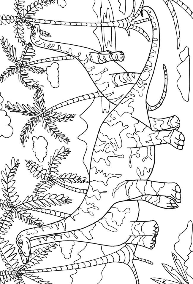Coloring Books For Adults Dinosaurs : 200 best dinosaur coloring pages images on pinterest