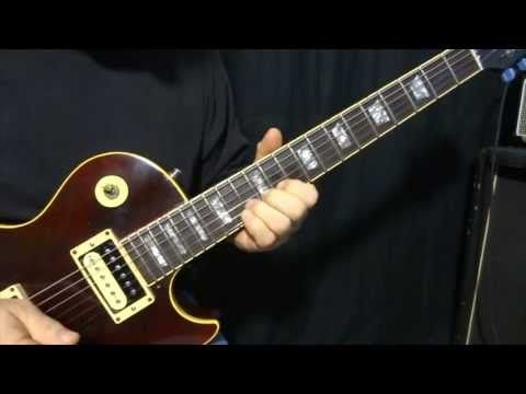 """how to play """"Black Magic Woman"""" by Santana - guitar solos lesson - YouTube"""