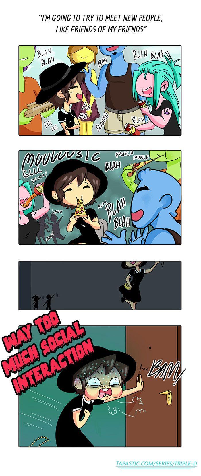 Best Introvert Funny Ideas On Pinterest Webtoon Comics Sun - Hilarious comics that every introvert will understand