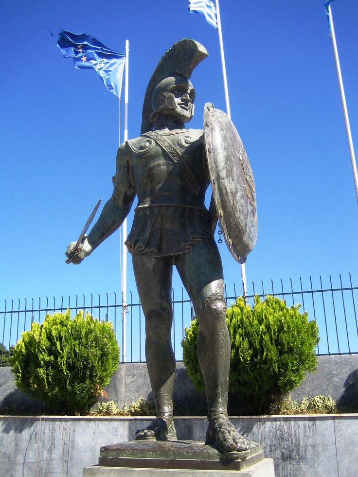 Το άγαλμα του Λεωνίδα στη Σπάρτη: Έργο του Φαληρέα | Laconialive.gr - Η ενημερωτική ιστοσελίδα της Λακωνίας, Νέα και ειδήσεις