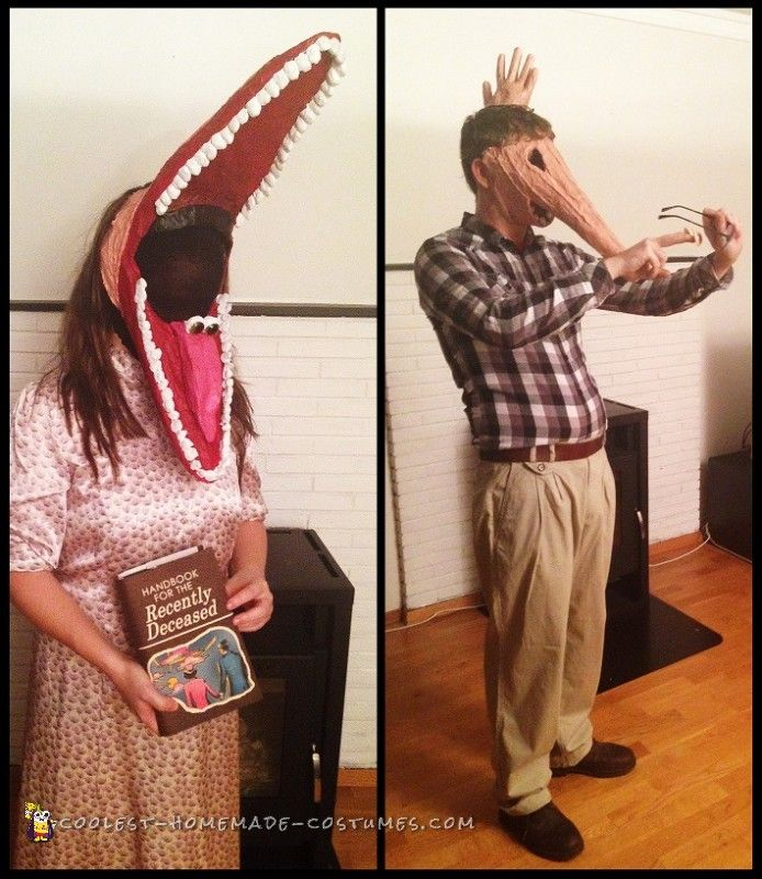 Creepy Beetlejuice Couple Costume The Maitlands. 26 Best Halloween 2017 Images On Costume Ideas & Scary Halloween Costumes For Couples 2017 | Cartoonview.co