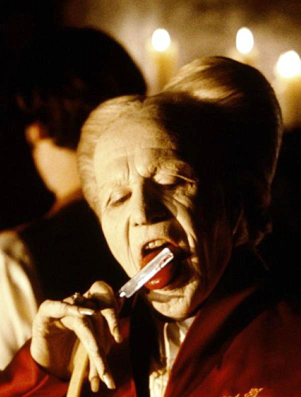 Gary Oldman as Count Dracula in a scene from Bram Stoker's Dracula. His performance was exquisite.