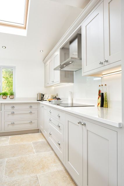 Maple & Gray: White & Grey Shaker Kitchen