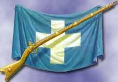 Greek Flag of 1821 revolution