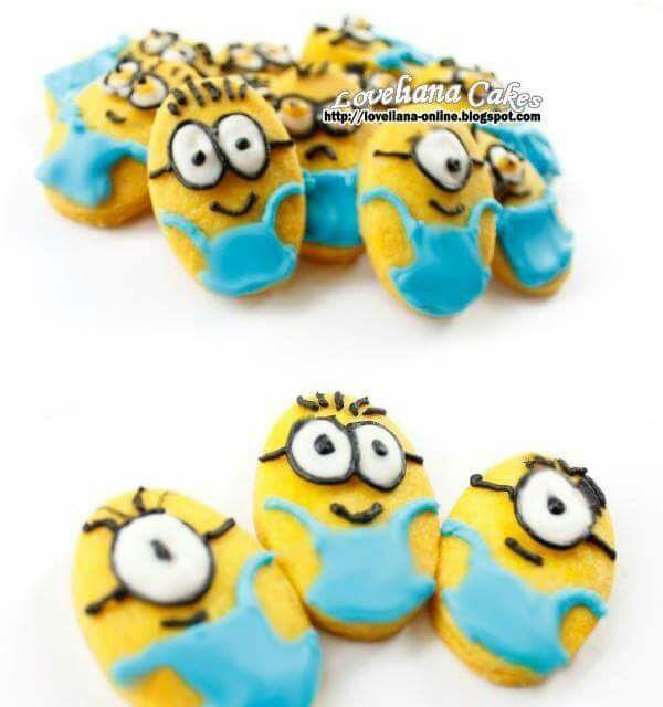 レシピとお料理がひらめくSnapDish - 111件のもぐもぐ - minions butter vanila cookies by liana