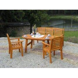 Dřevěná zahradní lavice EDEN