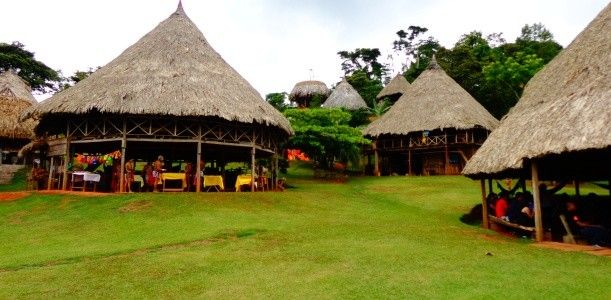 Embera Village,  Chagres National Park  - Colon Panama