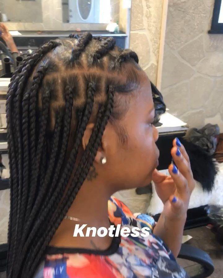 Braid Hairstyles African American Tutorial Ghanabraids In 2020