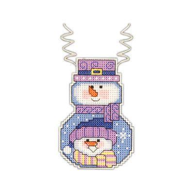"""Janlynn"" набор для вышивания ""новогодняя игрушка"" №2 СК 021-1188 ""Снеговик с шарфиком"" 8,9х5,7 | Janlynn | Наборы для вышивания | Вышивание | Интернет-магазин | Леонардо хобби-гипермаркет - сделай своими руками"