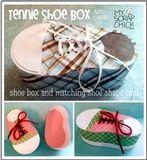 Tennie Shoe Box and Card