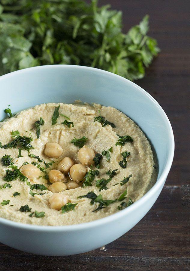 Hummus o Musabbaha libanés con Thermomix