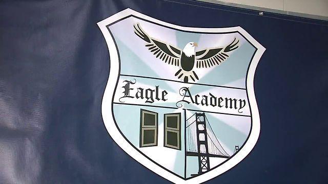 Eagle Academy Newark, NJ. New school program calls for 9-hour days, Saturday classes