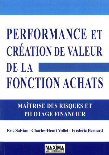 performance et création de valeur de la fonction achats | 141.22 SAL