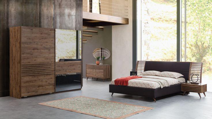 Genova Modern Yatak Odası Takımı - Modern Yatak Odaları - Yatak Odası Takımları
