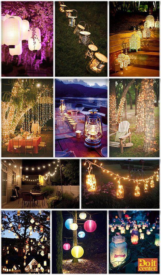 17 mejores im genes sobre fiestas en pinterest mesas for Boda en un jardin de noche