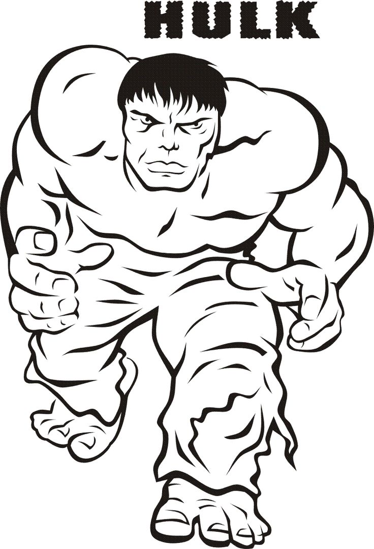 Free coloring in pages - Print Hulk Smash Of Kids Free Printable Hulk Coloring Pages For Kids