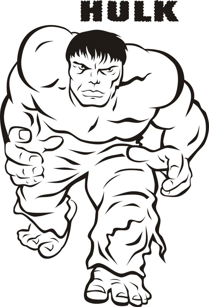 print hulk smash of kids Free Printable Hulk Coloring