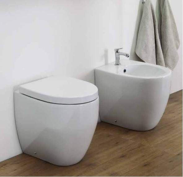 #Esedra Bull #Vaso, #Bidet e #coprivaso #soft-close originale.