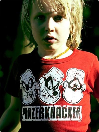 LOGOSHIRT Disney - Panzerknacker Kinder Shirt