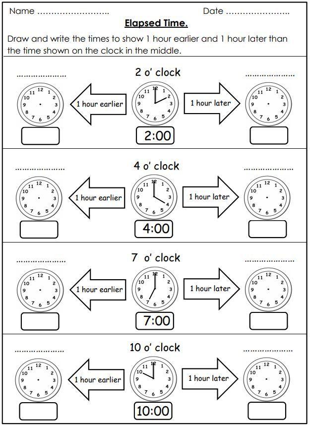 Free Elapsed Time Worksheets Time Worksheets Elapsed Time Worksheets Math Time Math time worksheets grade 4