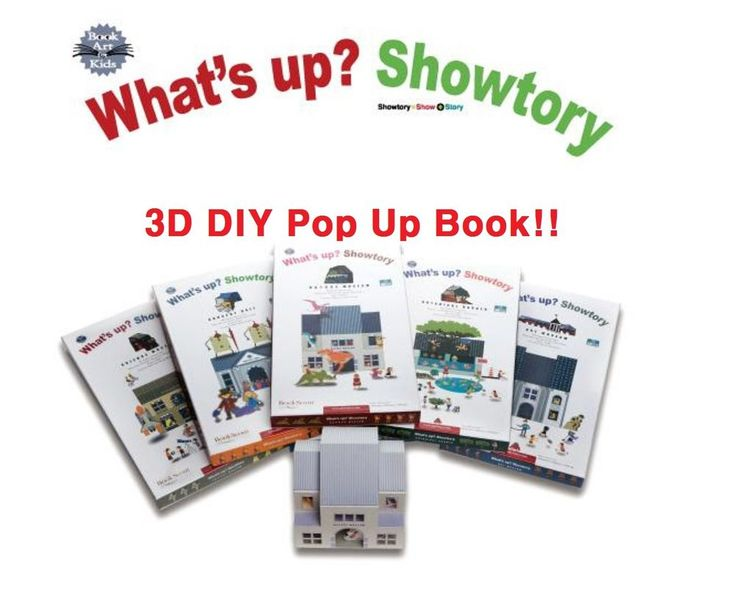 1 set 3D Pop Up Book Showtory Science Museum Theme (Made in Korea) #Showtory