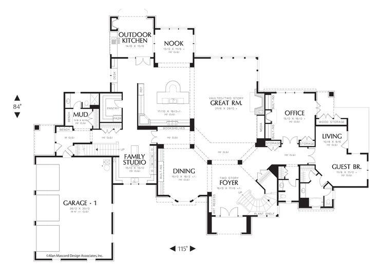 Image for Elstad-Convenience and Luxury close to 8000 Square Feet-Main Floor Plan